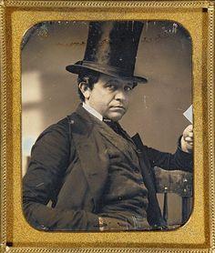 ca. 1854, [daguerreotype portrait of a gentleman]