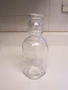 Brookfield baby top milk bottle glass milk bottle with by msink