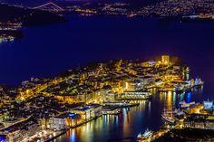 Fotó Nordnes éjszaka Rune Hansen 500px