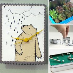 These altoid tin crafts are so clever - I love that clock! Thanks for sharing!