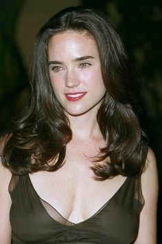Jennifer Connelly Requiem For A Dream premiere See thru! Jennifer Conely, Jennifer Garner, Jennifer Lawrence, Jennifer Connelly Requiem, Jennifer Connelly Young, Hollywood Celebrities, Hollywood Actresses, Beautiful Celebrities, Beautiful Actresses
