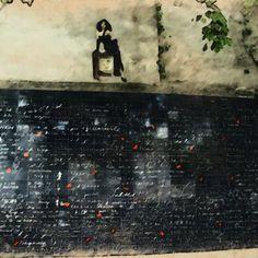 Wawrous Foto Design - Wall of love by Wawrous