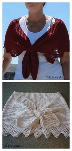 Carol's Clever Little Keyhole Shawl Free Knitting Pattern Crochet Caplet, Free Crochet, Knit Crochet, Shawl Patterns, Knitting Patterns Free, Crochet Patterns, Caplet Pattern, Arm Knitting, Knitting Accessories