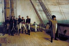 Sir William Quiller Orchardson 'Napoleon on Board the Bellerophon', exhibited…