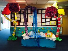 Seussical the musical entrance display bathtub