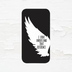 Supernatural Castiel Cell Phone Case  iPhone 6 Plus  by PrintedInc