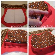 Para mi peque con amor: Riñonera con bolsillo de fuelle. Tutorial Drawstring Bag Tutorials, Sew Wallet, Homemade Cosmetics, Diy Purse, Tool Belt, Hip Bag, Handmade Bags, Small Bags, Saddle Bags