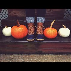 Preppy fall. Bean boots
