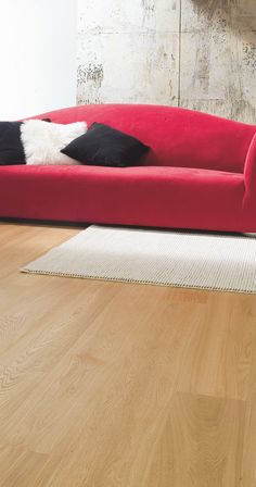 Skema's Oximoro line of wood flooring offers the beauty and durability of real wood. Shown here in Opera, Aida.