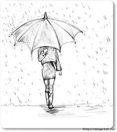 как нарисовать зонт - Поиск в Google