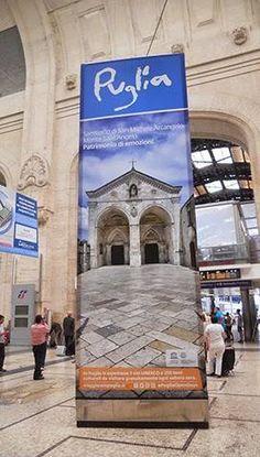 La Puglia nella Stazione Centrale di Milano. Grazie per la condivisione Gargano Destination!
