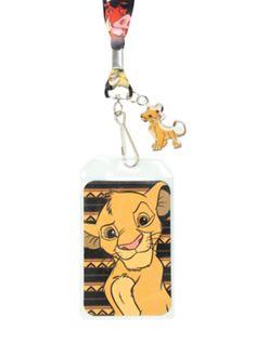 Disney The Lion King Simba Lanyard