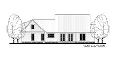 Plan 51758HZ: Three Bed Farmhouse with Optional Bonus Room