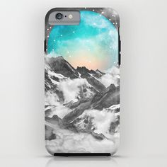 It Seemed To Chase the Darkness Away (Guardian Moon) iPhone & iPod Case
