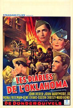 Thunderbirds John Drew Barrymore, War Film, Oklahoma, 2 Movie, Church Wedding, Wedding Announcements, Newspaper, World War, Evans