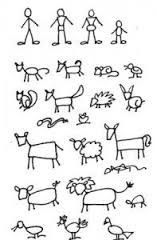 Image result for how to draw stick figures in action
