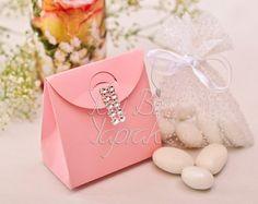 Açık Pembe Çanta Kutu #nikah #şekeri