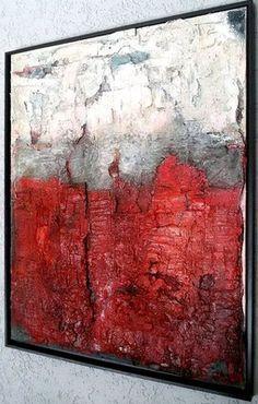 das rote im Rahmen... 80x100