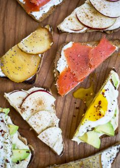 Four Pieces of Toast, Four Simple Recipes