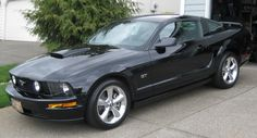 It's Black and It's mine. Ford Mustang GT 2007 (BillM)