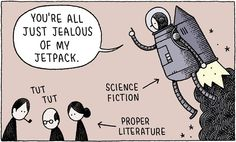 Youre All Just Jealous of My Jetpack: a collection of Tom Gaulds brilliant cartoons - Boing Boing