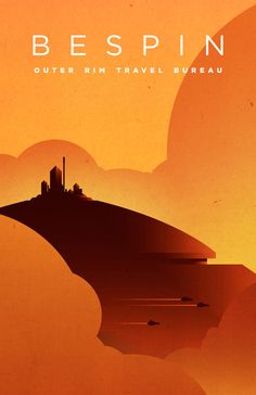 Star Wars Travel Posters - Created by Michael Mateyko Poster Retro, Vintage Posters, Vintage Images, Theme Star Wars, Star Wars Art, Tourism Poster, Travel Posters, Posters Geek, Space Posters