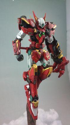 GUNDAM GUY: 1/100 Gundam Astraea Buster - Customized Build