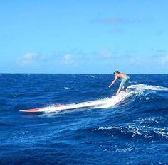 Big waves, makena surf wear , makena active wear , sup , leggings , surf , down wind , andrea Moller , surf leggings , paddle