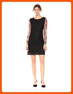 Desigual Women's Pichi ml Woman Woven Long Sleeve Dress, black, M - All about women (*Amazon Partner-Link)