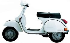 Vespa - this would be in the Italian garage for nipping to the shops