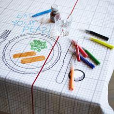 Art Party Tablecloth