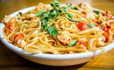 Receitas da Carolina - Bavette com lagosta (Foto: Robert Schwenck)