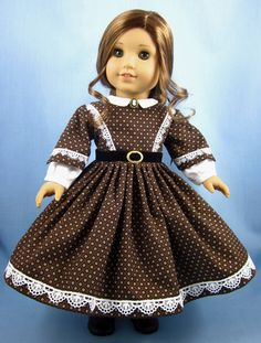 1860s Civil War Era Dress  American Girl  by SewMyGoodnessShop, $35.00