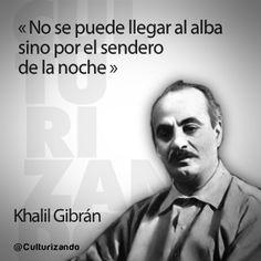Simples Comillas: 12 frases de Khalil Gibran
