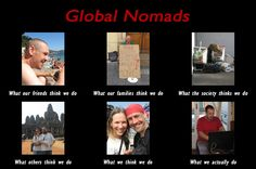 What do global nomads really do?