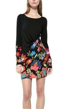 Desigual - šaty Floral, Skirts, Fashion, Moda, Fashion Styles, Flowers, Skirt, Fashion Illustrations