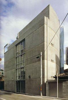 Tadao Ando | Oficinas del Arquitecto en Oyodo (Ando Atelier in Oyodo) | Osaka , Japón | 1990-1991