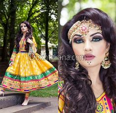 #afghan #style #dress #girl Afghani Clothes, Afghan Girl, Haldi Ceremony, Afghan Dresses, Types Of Dresses, Only Fashion, Ethnic Fashion, Pakistani Dresses, Stylish Dresses