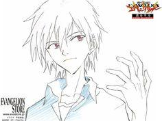 #Evangelion Attractive Character 「Nagisa Kaworu」