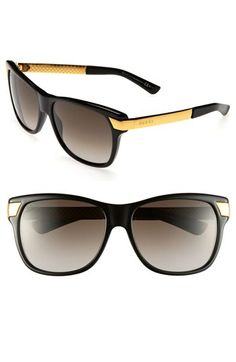 Gucci 57mm Sunglasses available at Nordstrom... They're MINE NOW.
