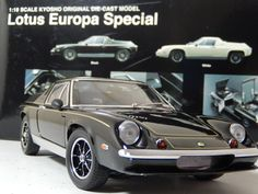 Lotus Europa Special boxed by Kyosho 1:18scale