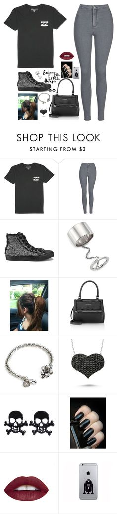 """""""open me up i let down my defense"""" by sophia-etr ❤ liked on Polyvore featuring мода, Billabong, Topshop, Converse, Elizabeth and James, Givenchy, Sweet Romance, Amorium, women's clothing и women"""