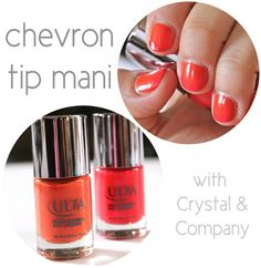 how to: chevron mani