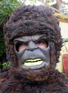 Here is my blog post describing how we created my son's Bigfoot Costume!
