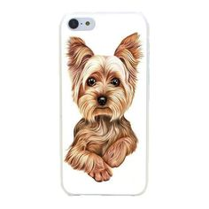 Gorgeous Yorkshire Terrier Dog Puppy Hard iPhone Case!