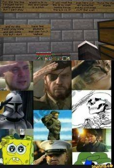 Art Minecraft, Minecraft Funny, Stupid Funny Memes, Funny Relatable Memes, Hilarious, Funny Gaming Memes, Sad Comics, Funny Comics, 4 Panel Life