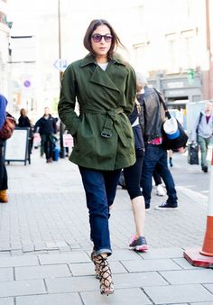 Your Denim Street Style Handbook: 52 Looks To Get You Inspired via @WhoWhatWear