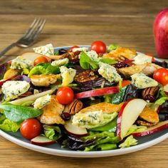 This salad was so delicious and fun to make! A clean eating recipe you can share with the whole family. Can you believe how gorgeous this is? This salad works great as a party pleaser for gatherings too :) Salad Ingredients: 2 Tbsps avocado oil (or extra virgin olive oil) 1 lb. free-range...