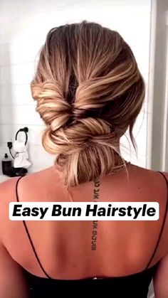 Work Hairstyles, Easy Hairstyles For Long Hair, Hairstyles For Women, Casual Updos For Long Hair, Protective Hairstyles, Easy Updos For Long Hair, Cute Simple Hairstyles, Stylish Hairstyles, Braids For Short Hair