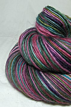 Handspun Yarn Gently Thick and Thin DK Single by SheepingBeauty, $36.00